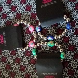 Paparazzi Girl Flower Balls Bracelets